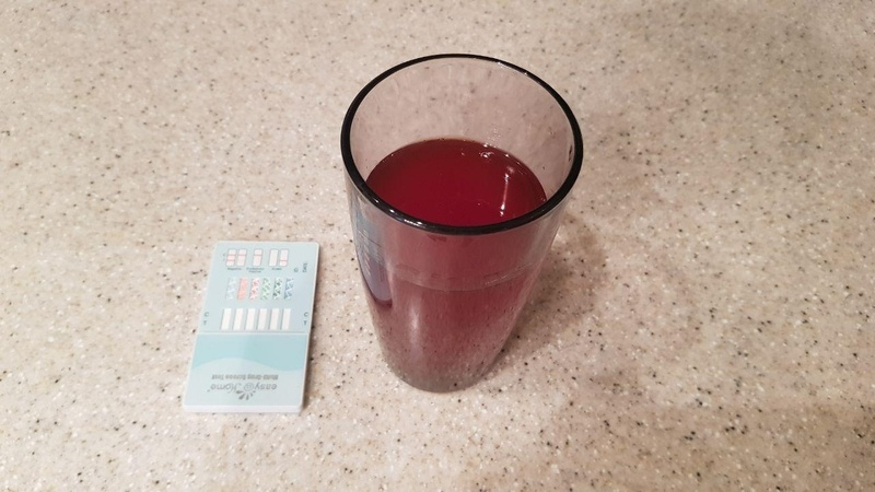 cranberry juice drug test